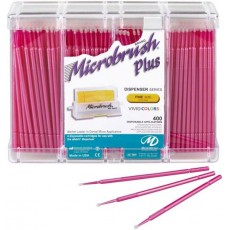 Microbrush Plus Fine 400 ks, 10 cm (růžové, žluté)