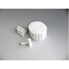 Dentalpad - dentální vatové válečky č. 2, 10 mm, 300 g  Batist