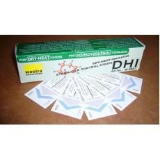 Chemický indikátor pro horkovzdušnou sterilizaci, indik. proužek DHI,200 ks, 160°C/60 min., 170°C/30 min, 180°C/20 min., tř. 4