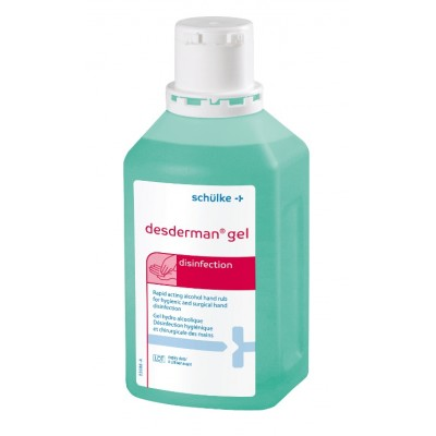 Desderman čirý gel 500 ml