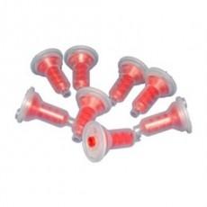 Míchací penta kanyly Medistock, 50 ks, červené