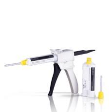 DUROC, Pryskyřičný materiál pro registraci skusu, kartuše 50 ml + 10 míchacích špiček.