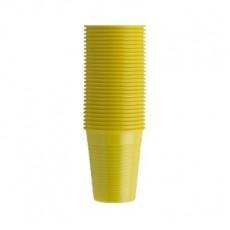 EURONDA kelímky žluté, 100 ks, 200 ml