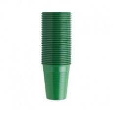 EURONDA kelímky zelené, 100 ks, 200 ml