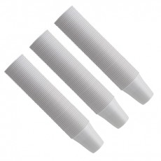 EURONDA kelímky  bílé 100 ks, 166 ml