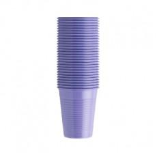 EURONDA kelímky fialové 200 ml, 100 ks