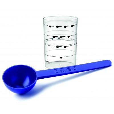 Cavex naběračka na prášek + odměrka na vodu