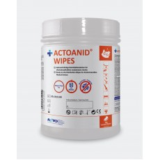 Actoanid Wipes, 100 Wipes - 15 x 24 cm  (plochy - bez alkoholu)