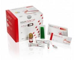 GC EQUIA Forte HT, Clinic Pack, A3 (200 kapslí,1x  Equia Forte Coat,25x aplikační štětečky)