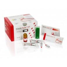 GC EQUIA Forte HT, Promo Pack, A2 (100 kapslí,1x Equia Forte Coat,25x aplikační štětečky)